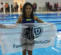 Uno de los primeros grandes éxitos de Daniela Giménez a los 13 años