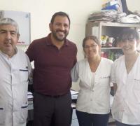 Participaron de la firma en representación  de el Hospital la doctora Andrea Mayol y por la Fundación Marcelo Gonzalez.