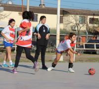 Handball en los Juegos Evita