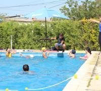 Escuela de Natación en el Jaime Zapata