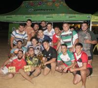 Los jugadores de Regatas Resistencia compitieron en el denominado equipo ´´Estrellitas´´ y se coronaron campeones.