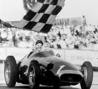 Quintuple campeón mundial Juan Manuel Fangio