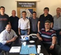 Reunión de marzo de la Federación Chaqueña de Básquetbol