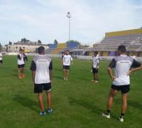 For Ever entrenando en Bahia Blanca. Foto faceebok For Ever