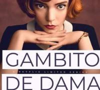 Gambito de dama, dirigida por Scott Frank y protagonizada por Anya Taylor-Joy, que puede verse en Netflix