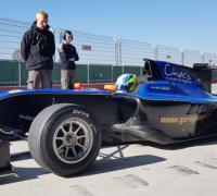 Giorgio Carrara a bordo de un GP3