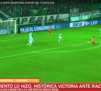 El gol de Orzan en video