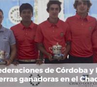 Los equipos femenino y masculinos, ganadoresdel interfederativo