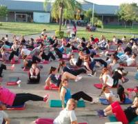 Equipo de gimnasia de Regatas que participó el Nacional de Mendoza