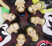 Las chicas de gimnasia de Regatas