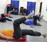 clases de aeróbica, funcional, complementos, baile aeróbico y gimnasia aeróbica  en el Jaime Zapata