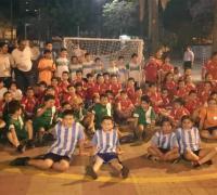 Los minis de Salesianos, Fontana, San Roque, Atlas y Sarmiento se divirtieron la semana anterior en Don Bosco