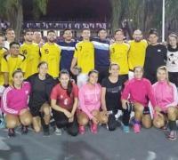 Seleccionados femenino y masculino de Chaco de Handball