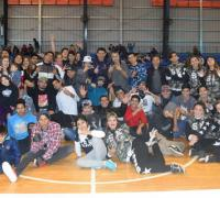 Hip hop en las instalaciones del micro estadio el polideportivo Jaime Zapata