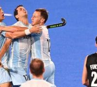 Gran victoria de Los Leones en hockey masculino