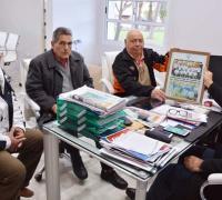 Jorge Díaz, Luis Martínez, Fernando Cucchi y  Juan Argüello