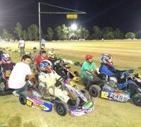 Excelente presentación del kartódromo en Santa Sylvina