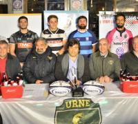 Lanzamiento finalísima de rugby