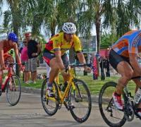 Momento del ciclismo en Triatlon de Corrientes