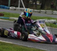 Luca Longhi con victoria en la Copa Rotax