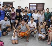 Visita de jovenes y adolecentes del Lote 204 del Barrio Mujeres Argentinas
