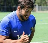 Lucas Favre, jugador chaqueño en Argentina XV