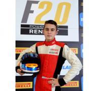 Lucas Longhi, piloto de la Fórmula 2.0