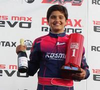 Lucas Bohdanowicz logró ganar en la clase Junior Max