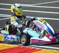 Con soberbio manejo Lucas ganó el Sudamericano de Karting RMC