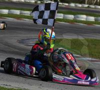 Otra victoria consiguió en el Regional Lucas Bohdanowicz