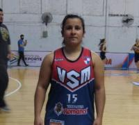 María Escobar, jugadora de Villa