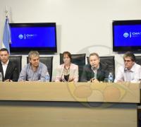 Autoridades provinciales en la presentación de la Maratón de El Impenetrable