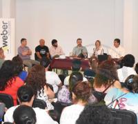 La charla en la Casa de las Culturas