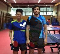 Franco Titolo (20 años) y Joaquín Kanashiro (19), se suman a la Asociación Chaqueña de Tenis de Mesa