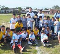 Muchos niños en las actividades del Parque Tiro Federal