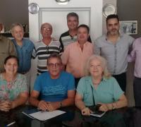 Participantes de la reunión por el Museo del Deporte