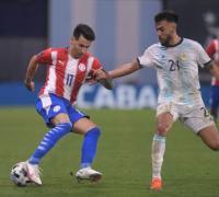 Gran partido del argentino Nicolás Gonzalez, autor del gol del empate