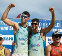 dupla número 1 de Argentina. Julián Azaad y  Nicolás Capogrosso.