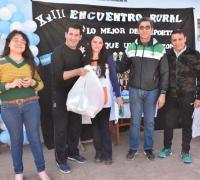 """Campaña Solidaria """"Paraje Ojo de agua """"en el marco del XVIII encuentro de Escuelas Rurales"""