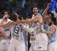 De desata la euforia Argentina y quedan mudo los 20 mil espectadores mexicanos