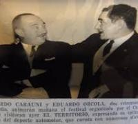 Gerónimo Orcola y Lolo Carauni (Foto diario El territorio)
