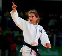 La judoca Paula Paretto, una de las clasificadas para la cita olímpica.