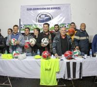 Autoridades del IDch en el Club Barrio Parque Independencia
