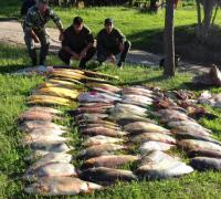Pescados secuestrados por Fauna y Pesca