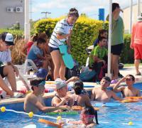 tividades en el natatorio del Jaime Zapata