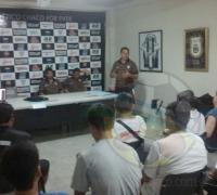 Horacio Prado exponiendo ante los profesores de las distintas divisiones inferiores