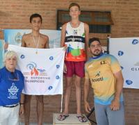 Uno de los podios en Corrientes