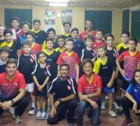 El equipo chaqueño de tenis de mesa