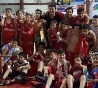 REgatas campeón provincial U13 del 2017