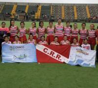 Regatas femenino en Rosario